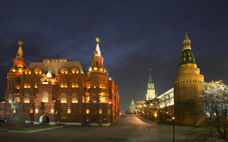 Обои russia, ночь, kremlin, россия, кремль, moscow. Города foto 14